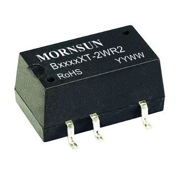 B_XT-2WR2 Series   2 Watt PCB Mount   1500V Isolation   Mornsun Power
