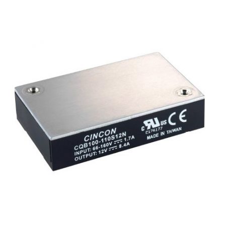 CQB100-110S Series | 100 Watt | DC-DC Quarter-Brick | Cincon Power UK