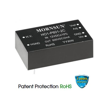 HO1-P601 2C Series | DC-DC Converter | 1.20 Watt | Mornsun Power UK