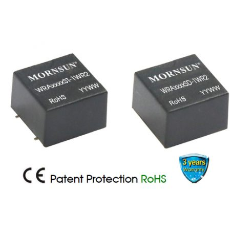 WRA_SD-1WR2 Series | 1 Watt | DC-DC Converter | Mornsun Power UK