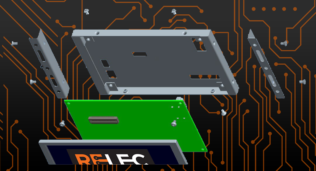 Mounting Frames @ Relec Graphic 2 | Custom TFT Displays | Digiwise Tech | UK Distributor