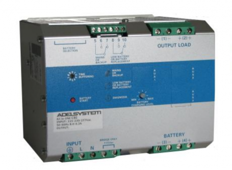 CBI4810A Series   ADEL Systems   DC-UPS Power Supply   UK Distributor
