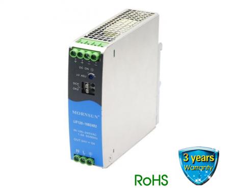 LIF120 R2 Series   120 Watt   PFC AC-DC Power   EN/UL62368 Approved