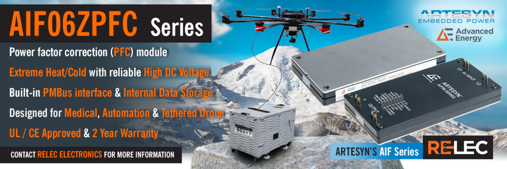 AIF Series By Artesyn Banner | 2400 Watt | Full-Brick PFC | Extreme Temperatures